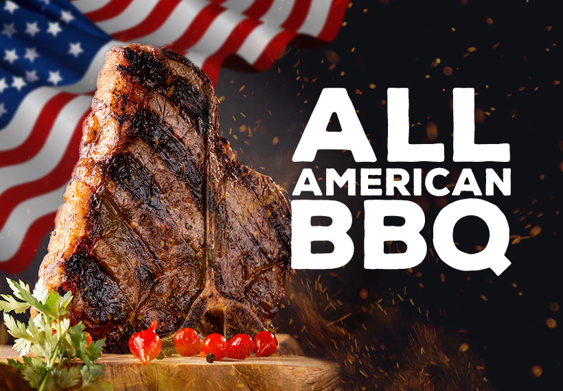 US BBQ Sortiment