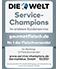 Welt.de Service Champion