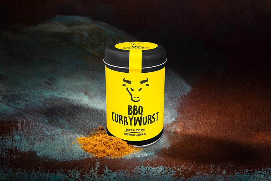 BBQ Currywurst mittelscharf