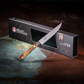 FELIX - FIRST CLASS WOOD STEAKMESSER, 12CM