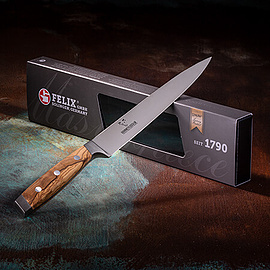 FELIX - FIRST CLASS WOOD FLEISCH- UND TRANCHIERMESSER, 21CM