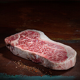Original Kobe Wagyu Rumpsteaks aus Japan (A5)
