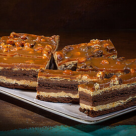 Chocolate Peanut Butter Stack